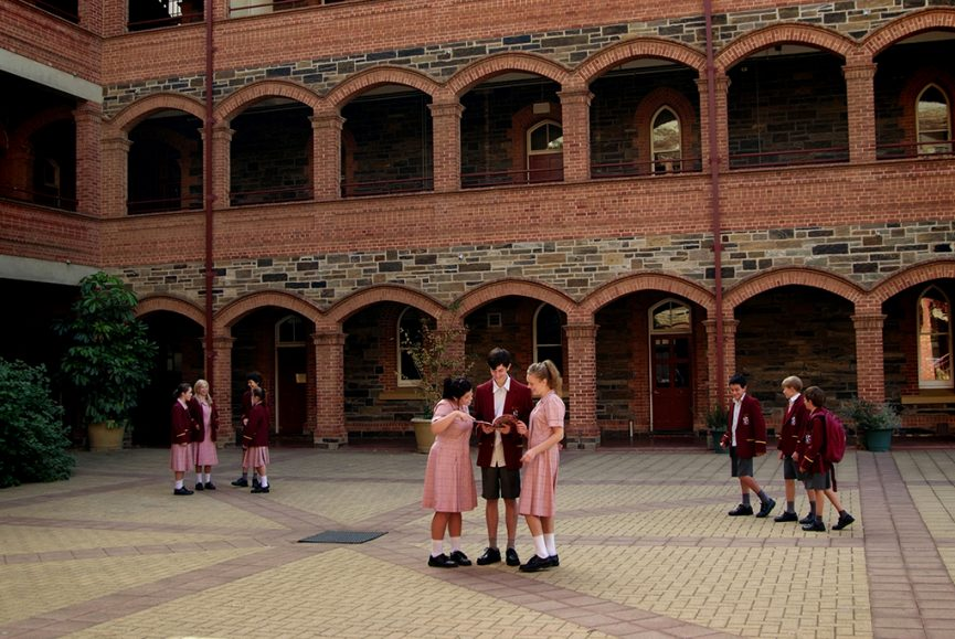 education, school, children, high-school, primary school, kids, uniform, Cabra Dominican College, year book, photography, Adelaide, corporate location, photographer, South Australia, school bag, dress, shorts, blazer