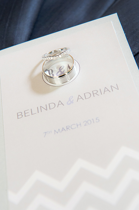 wedding rings, wedding booklet, church, design, white gold, beautiful, photography, Gainsborough Studio, photographer