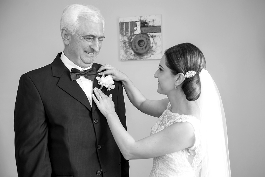 Adelaide wedding photography bride getting ready dress lace hair up-do flowers photographer