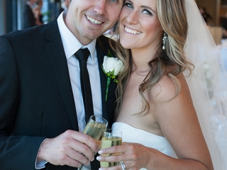 reception, love, National Wine Centre, Adelaide, Australia, happy, joy, white, wine, champagne, dress, rose, black, suit, charcoal, tie, shirt, earrings, lights, cheers, wedding