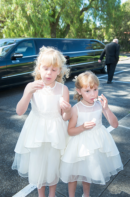 bubbles, limousine, Italian, Wedding, Flower Girls, happy, love, dress, flowers, white, photographer, church, photography, cute, special, moments