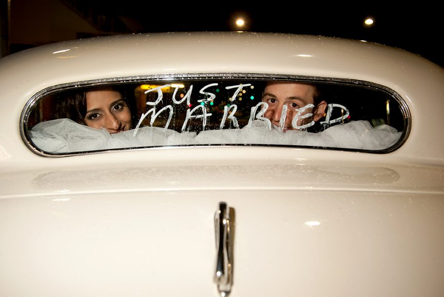 wedding car, just married, bride, groom, happy, love, Indian, traditional, photography, Adelaide, photographer, South Australia