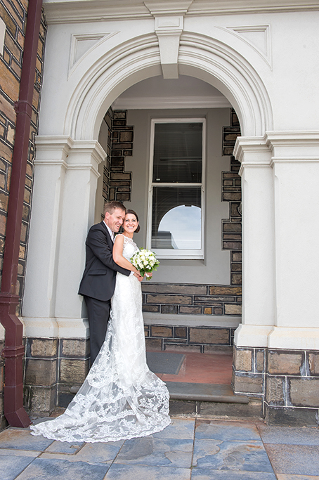 happy smiles groom flowers lace bride dress roses Adelaide love wedding South Australia photography excited beautiful photographer