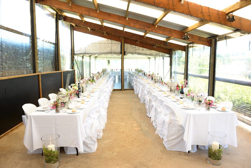 candles pink flowers beautiful fairy-lights wedding photography sash table setting reception Paxton winery Adelaide photographer South Australia