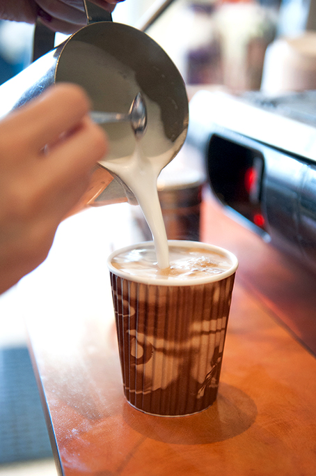 cafe, Adelaide, coffee, latte, milk jug, product, photographer, South Australia, corporate, photography, take-away, roasted beans