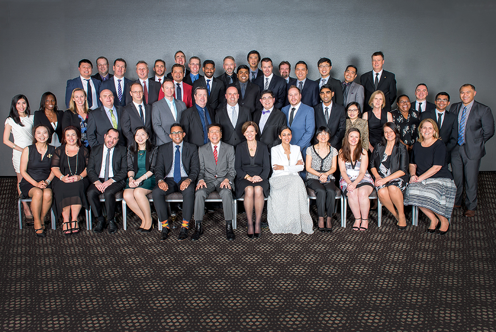 Corporate group shot, national conference, event image, large corporate group shot, Crown Plaza Adelaide, IHG Hotel group