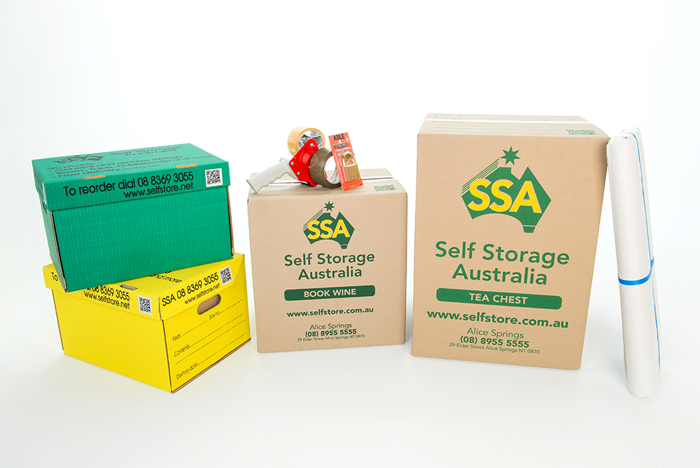 storage, boxes, tape, lock, studio, photography, product, corporate, photographer, Adelaide, South Australia, yellow, green, brown