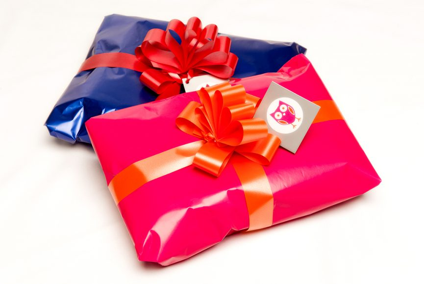banding, packaging, presents, pink, orange, blue, red, photographer, Adelaide, corporate, product, South Australia, photography