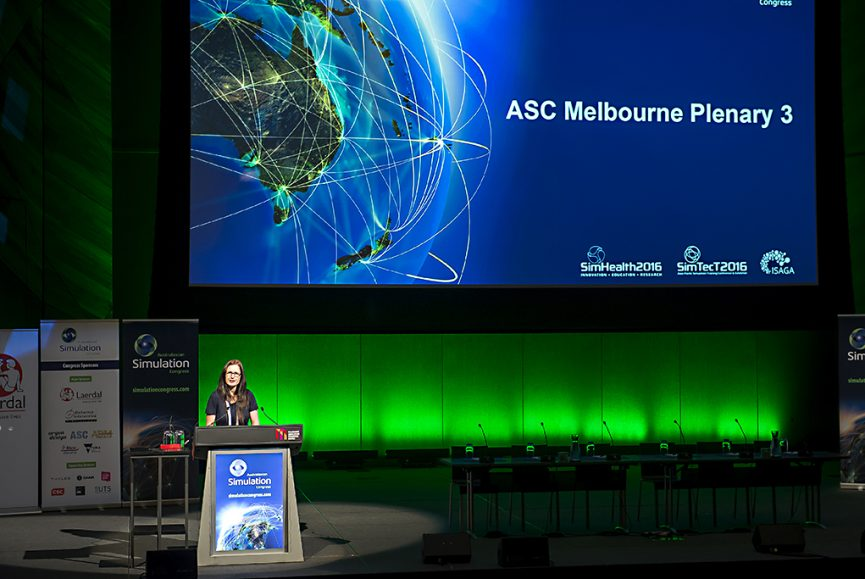 Australasian Simulation Conference, Melbourne Australia, Plenary, Simhealth, Simtec, Seminar photography, conference and event photography, Melbourne Convention Centre