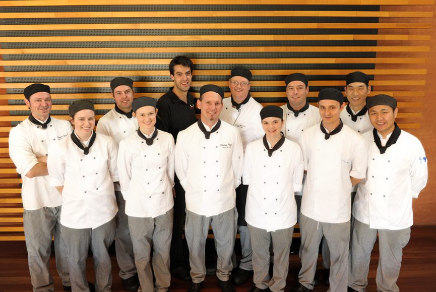 chef, catering, restaurant, Adelaide, staff, South Australia, corporate location photography, photographer, group photo, uniform, outfit, black hat