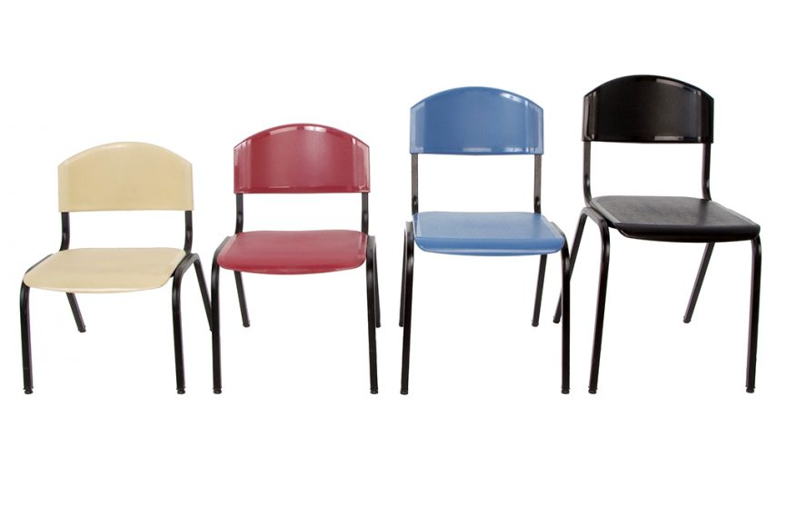 furniture, chairs, cream, red, blue, black, kids, teenagers, adults, school, product, studio, photography, white background, photographer, corporate