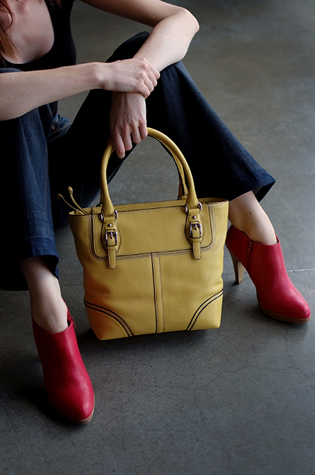 handbag, catalog, accessories, shoes, red, yellow, jeans, fashion, corporate, photography, Adelaide, South Australia, photographer, location photography