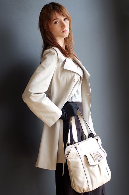 handbag, catalog, modelling, fashion, style, winter, attire, gloves, bag, coat, model, corporate, product, location photography, Adelaide, photographer, South Australia