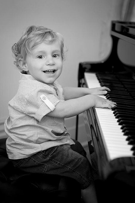 Happy piano black and white photography adelaide photographer south australia